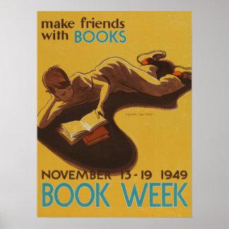 1949人の児童読書週間ポスター ポスター
