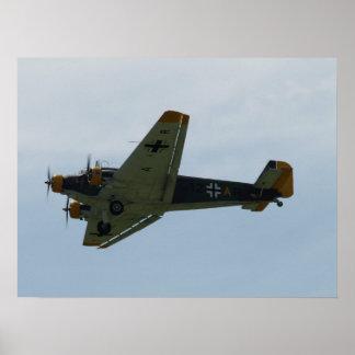 1949台のぽんこつ自動車Ju-52. ポスター