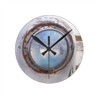 1949年のChevyの時計 ラウンド壁時計