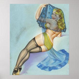 1949年頃FilenTheのベール、私芸術の上のPin ポスター