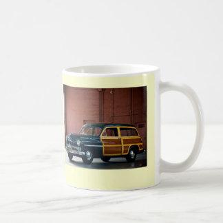 1950年の水星Woodie コーヒーマグカップ