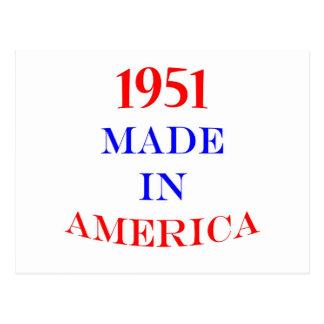 1951アメリカで作りました 葉書き