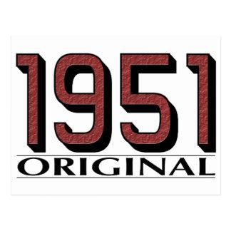 1951オリジナル はがき