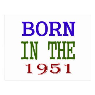 1951年に生まれて下さい はがき