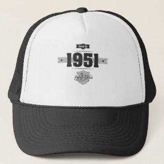 1951年に生まれて下さい(Dark&Lightgrey) キャップ