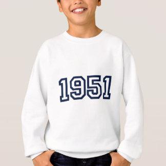 1951年の誕生年のスエットシャツ スウェットシャツ