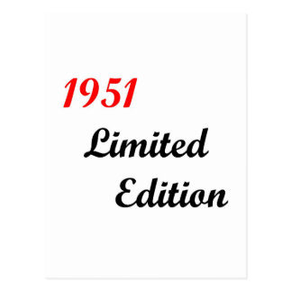 1951限定版 ポストカード