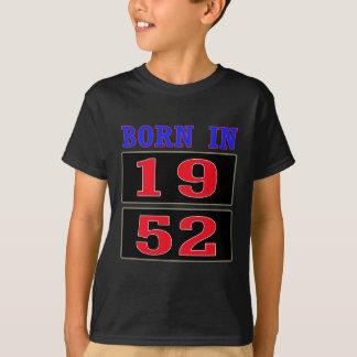 1952年に生まれて下さい Tシャツ