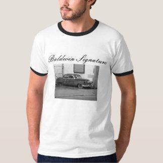 1952年のキャデラックBaldwinの署名 Tシャツ