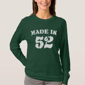 1952年のワイシャツで作られる Tシャツ