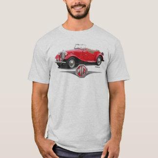 1952年のMGのロードスターのTシャツ Tシャツ