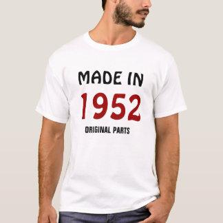 """1952年: """"1952年の元の部品""""のTシャツに作られて Tシャツ"""
