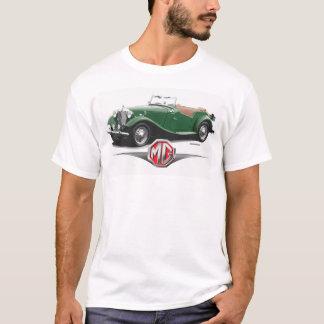1952緑MGのロードスターのTシャツ Tシャツ