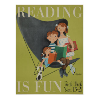 1953人の児童読書週間ポスター ポスター