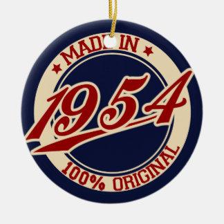 1954年に作られる セラミックオーナメント
