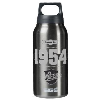 1954年に生まれて下さい(Light&Darkgrey) 断熱ウォーターボトル