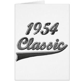 1954年のクラシック カード