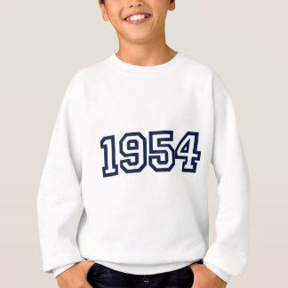 1954年の誕生年のスエットシャツ スウェットシャツ
