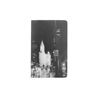 1954年頃:  眺めのミシガン州の道 ポケットMoleskineノートブック