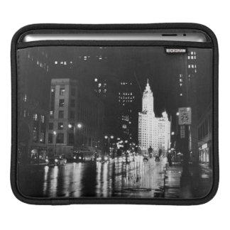 1954年頃:  眺めのミシガン州の道 iPadスリーブ