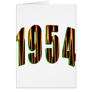 1954年 カード