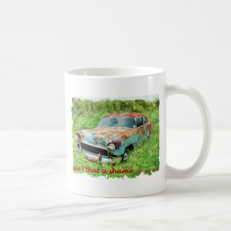 1955年のシボレー2Door. コーヒーマグカップ