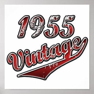 1955年のヴィンテージ ポスター
