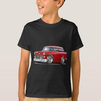 1955年のChevyの遊牧民の赤車 Tシャツ