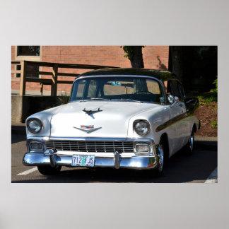1955年のChevy Bel Airポスター ポスター