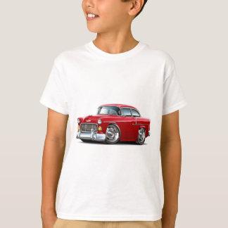 1955年のChevy Belairの赤車 Tシャツ