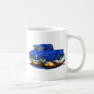 1955年のChevy Stepsideの積み込みの青のトラック コーヒーマグカップ