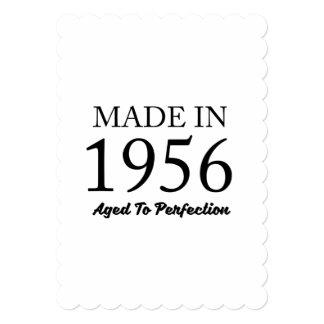 1956年に作られる 12.7 X 17.8 インビテーションカード