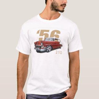 1956年のシボレー210のセダン Tシャツ