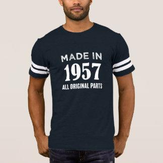 1957で作られてすべてのオリジナルは第60誕生日のティーを分けます Tシャツ