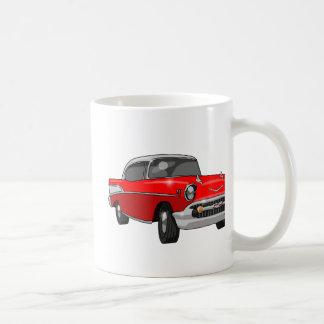 1957年のシボレーBel Air コーヒーマグカップ