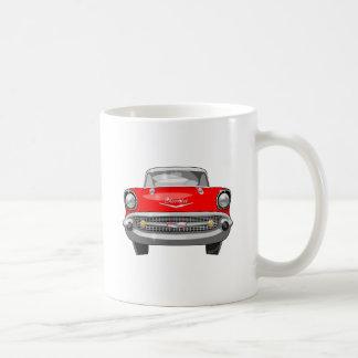 1957年のChevyの正面図 コーヒーマグカップ