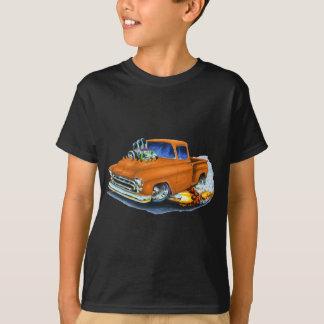 1957年のChevyの積み込みのオレンジ Tシャツ