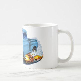1957年のChevyの積み込みのLt Blue コーヒーマグカップ