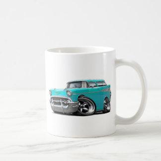 1957年のChevyの遊牧民のターコイズは改造しました コーヒーマグカップ