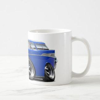 1957年のChevyの遊牧民の青は改造しました コーヒーマグカップ