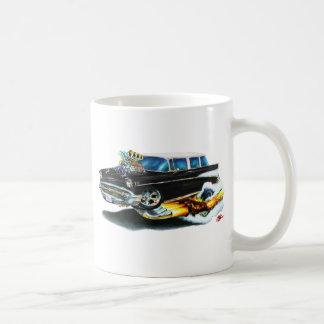 1957年のChevyの遊牧民の黒車 コーヒーマグカップ