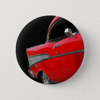 1957年のChevyボタン 5.7cm 丸型バッジ