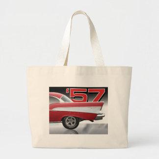 1957年のChevy Bel Air ラージトートバッグ