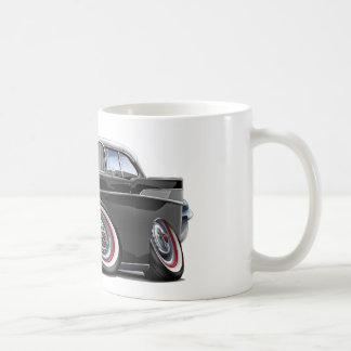 1957年のChevy Belairの白黒車 コーヒーマグカップ