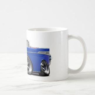 1957年のChevy Belairの青いコンバーチブルは改造しました コーヒーマグカップ