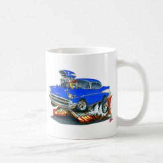 1957年のChevy Belairの青車 コーヒーマグカップ
