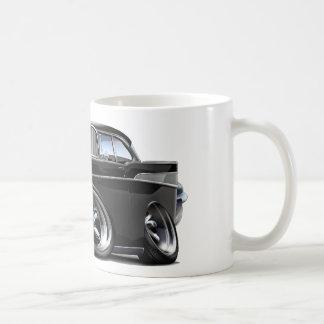 1957年のChevy Belairの黒は改造しました コーヒーマグカップ