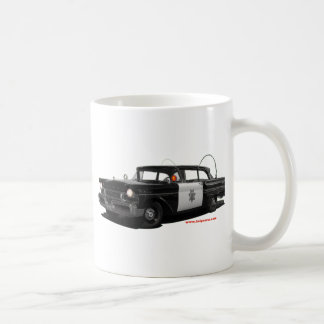 1957水銀モンテレーハイウェーパトロール車 コーヒーマグカップ