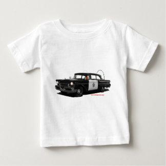 1957水銀モンテレーハイウェーパトロール車 ベビーTシャツ