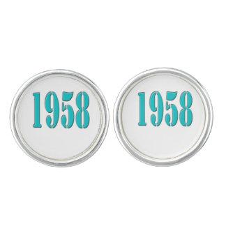 1958のカフスボタン カフスボタン